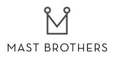 Mast brothers logo greyscale